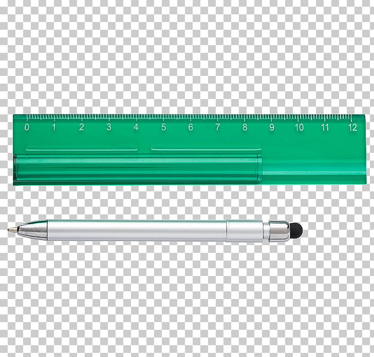 Ballpoint Pen Plastic Promotional Merchandise Ruler.