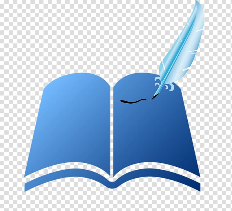 Logo Book , Book writing transparent background PNG clipart.
