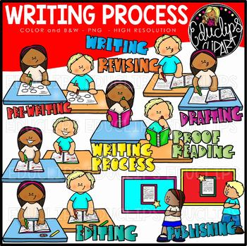 Writing Process Clipart Worksheets & Teaching Resources.