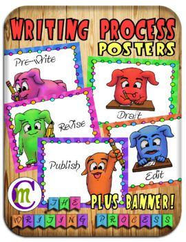 The Writing Process Posters.