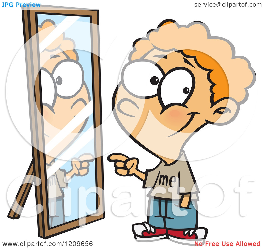 Mirror Reflection Clipart#2191582.