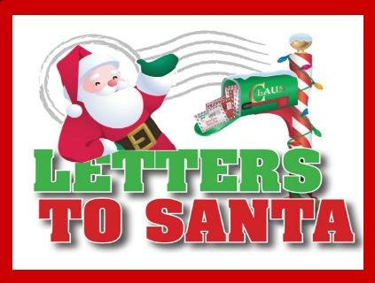Letters To Santa Clipart.