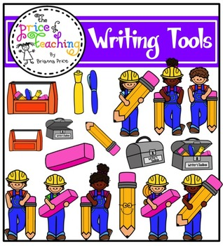 Writing Tools (The Price of Teaching Clipart Set).