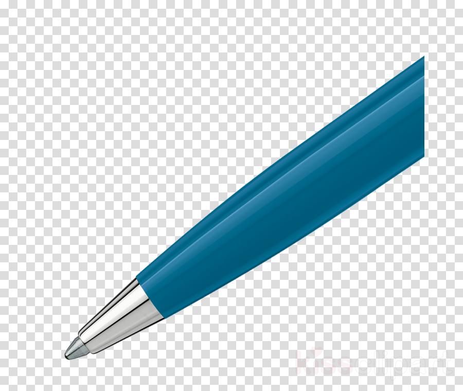 pen blue turquoise office supplies ball pen clipart.