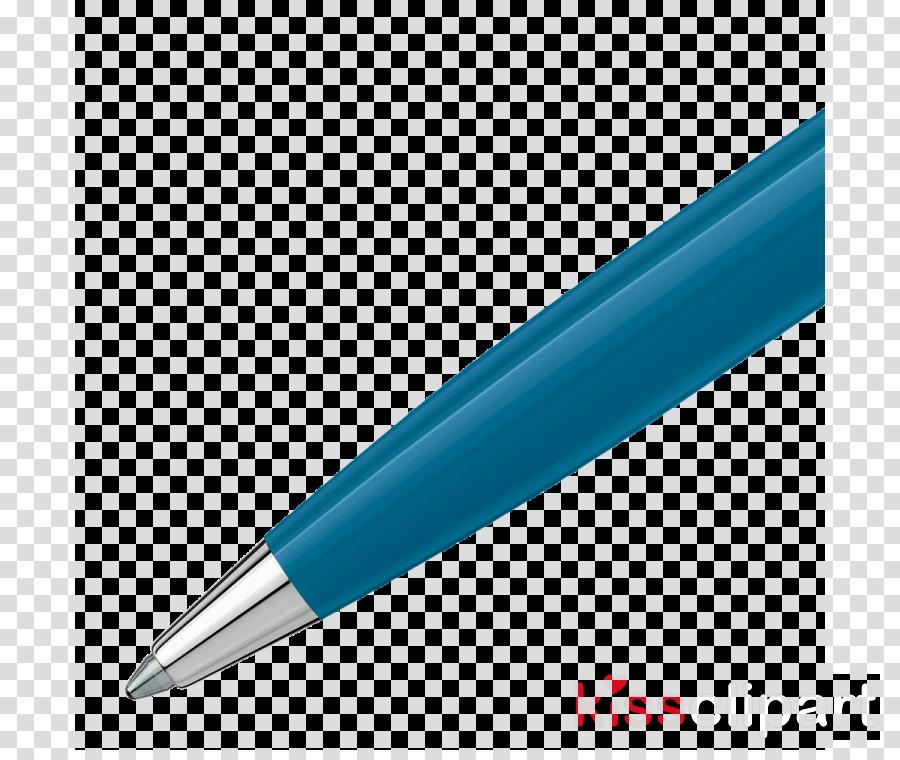 pen blue turquoise office supplies ball pen clipart.