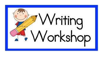 Welcome to Kindergarten: September Writer's Workshop.