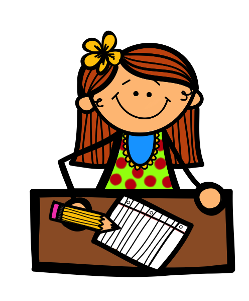 Writing A Letter Clipart.