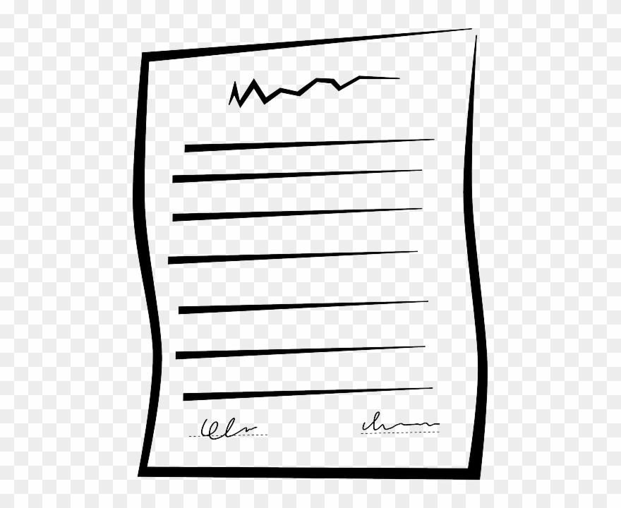 Download Written Note Clipart Paper Clip Art.