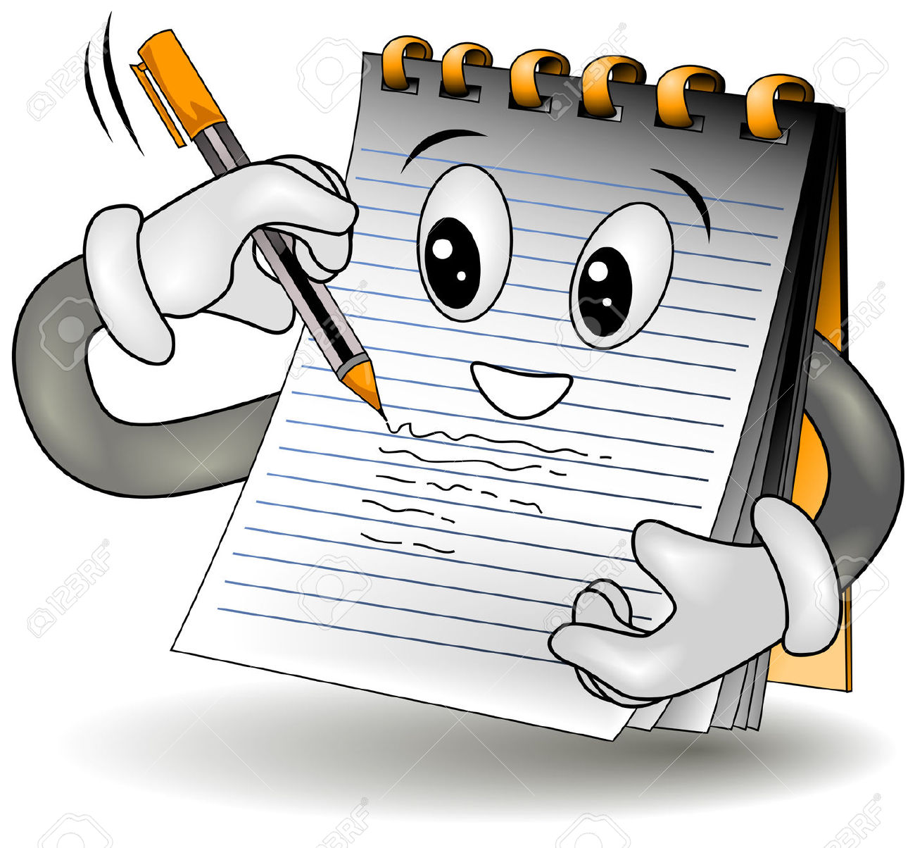 Notes clipart #2