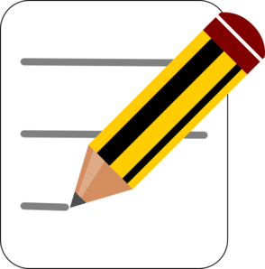 Notes Clipart.