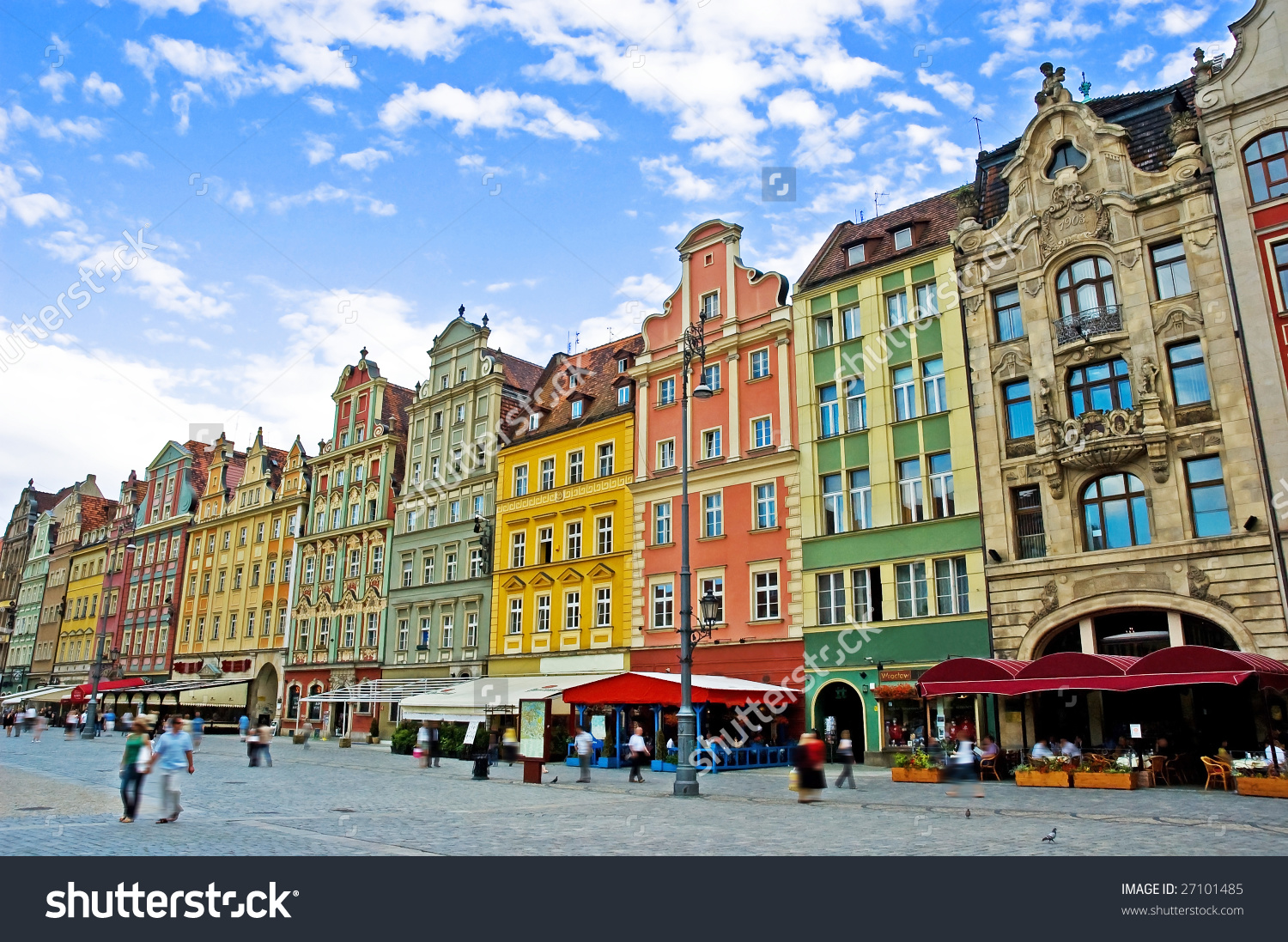 Market Square Wroclaw Poland Stock Photo 27101485.