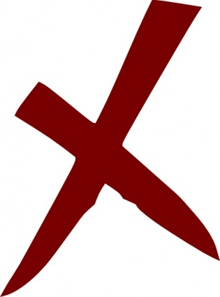 X Wrong No Cross clip art Clipart Graphic.