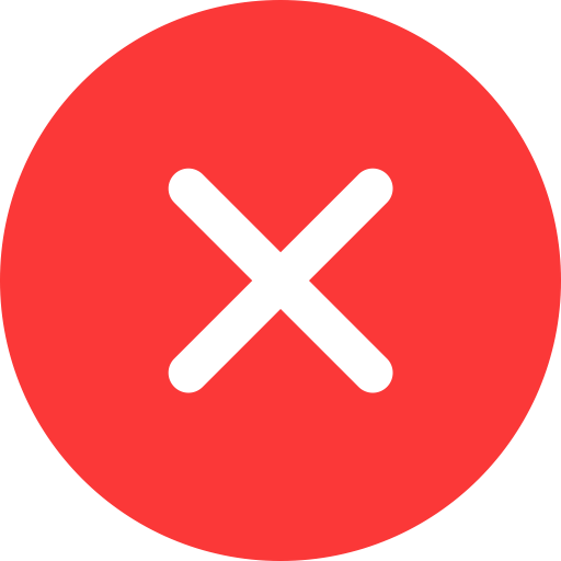 Wrong Icon PNG and Vector for Free Download.