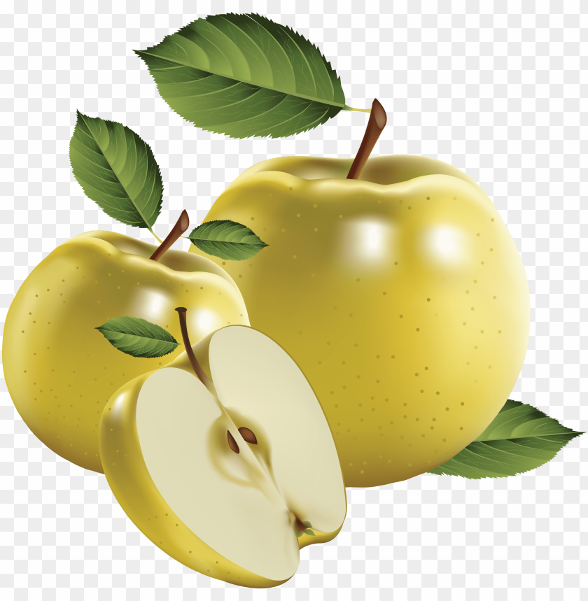 Download green apple\'s clipart png photo.