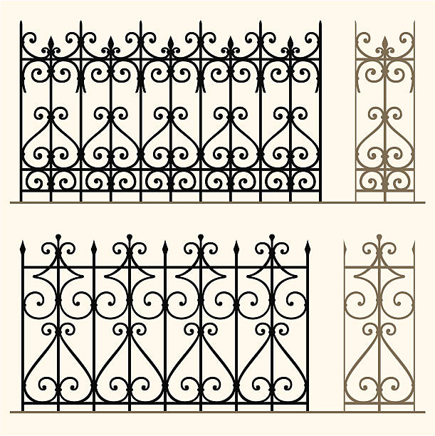 Best Wrought Iron Illustrations, Royalty.