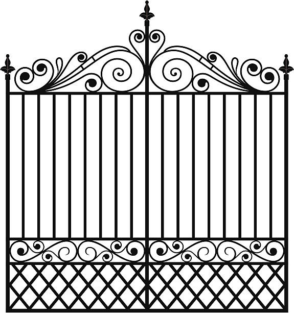 Wrought Iron Clip Art, Vector Images & Illustrations.