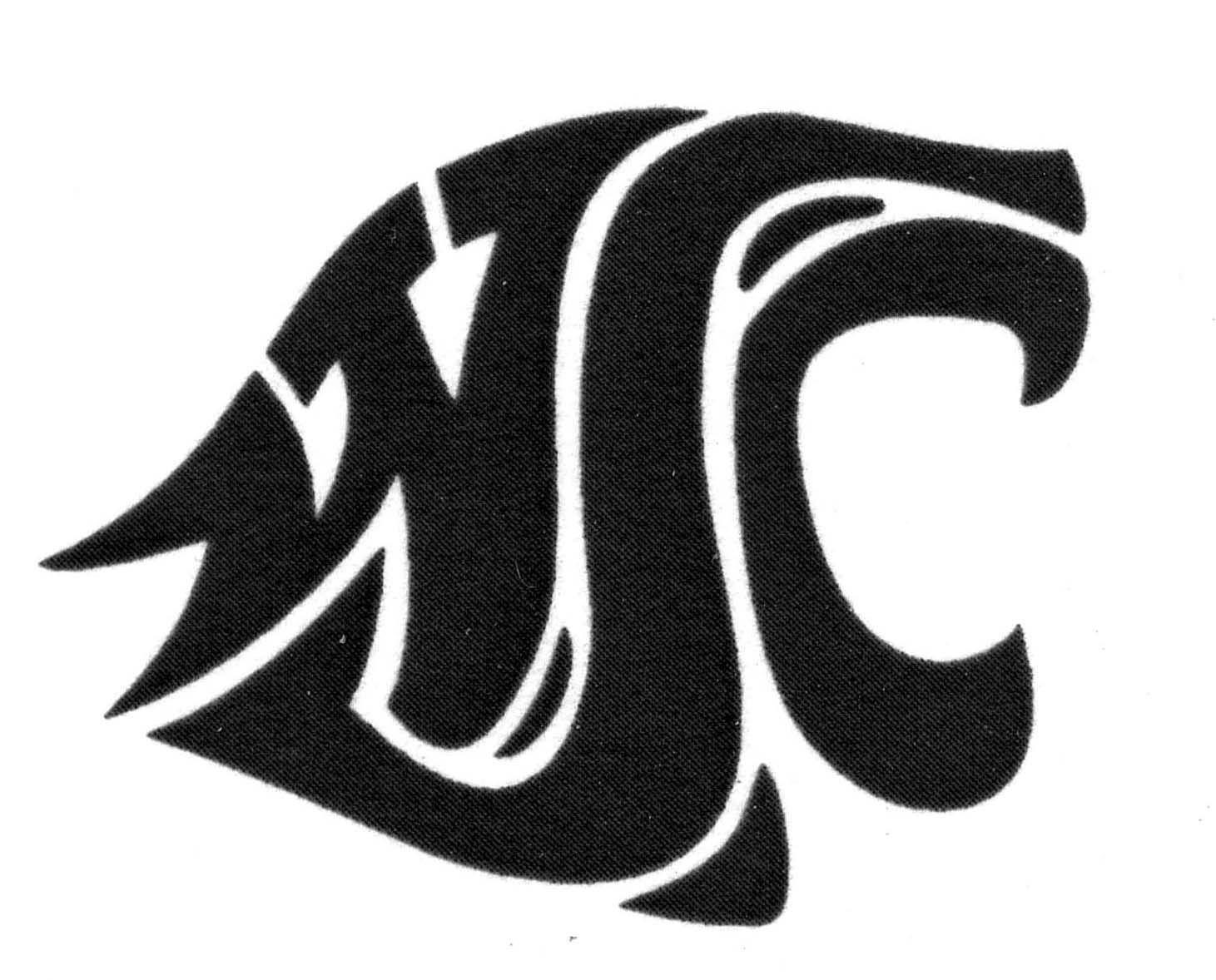 Washington State Cougars Logo WSU N4 free image.