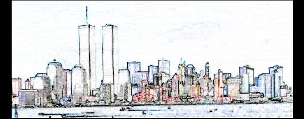 WTC White Art SVG Vector file, vector clip art svg file.