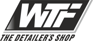 WTF The Detailers Shop Logo Vector (.CDR) Free Download.
