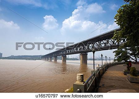 Picture of China, Hubei Province, Wuhan, Wuchang, Wuhan Yangtze.