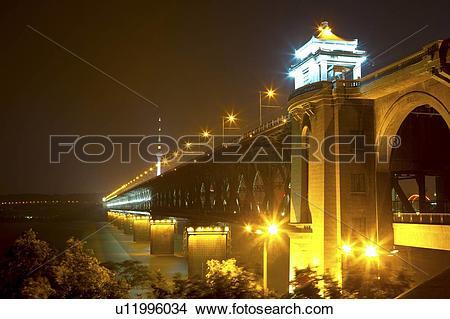 Stock Photo of China, Hubei Province, Wuhan, Wuchang, Wuhan.