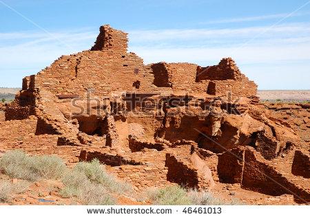 Wupatki National Monument Stock Photos, Royalty.