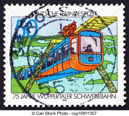 Stock Bilder von porto, Briefmarke, 1976, wuppertal, zug.