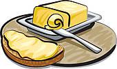 Butter Knife Clip Art.