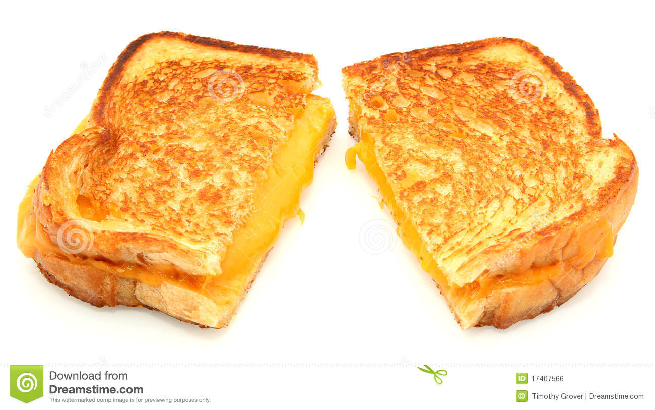 Grilled Cheese Sandwich Clipart.