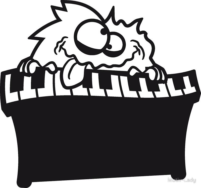 keyboard klavier tasten musik band spielen spaß party feiern.