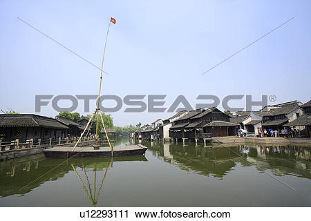 Stock Photography of China, Zhejiang Province, Wuzhen, traditional.