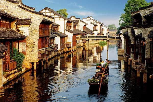 Wuzhen water town plans global art show[1].