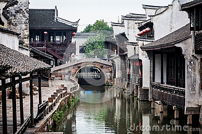 Wuzhen Water Town Stock Photo.