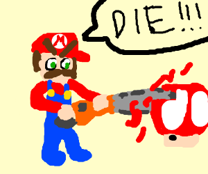 Luigi Death Stare.