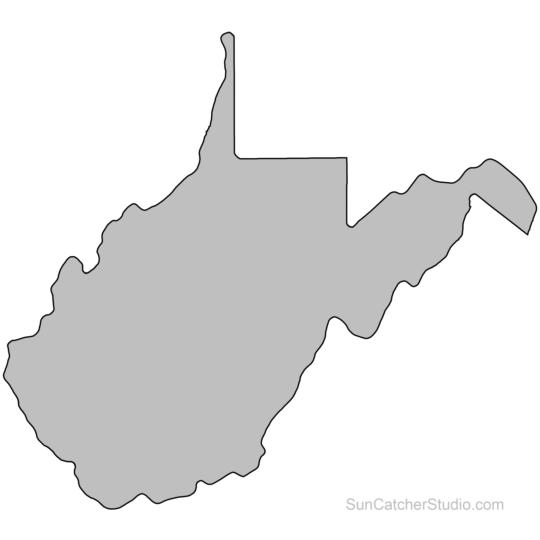 State Outlines, Maps, Stencils, Patterns, Clip Art (All 50.