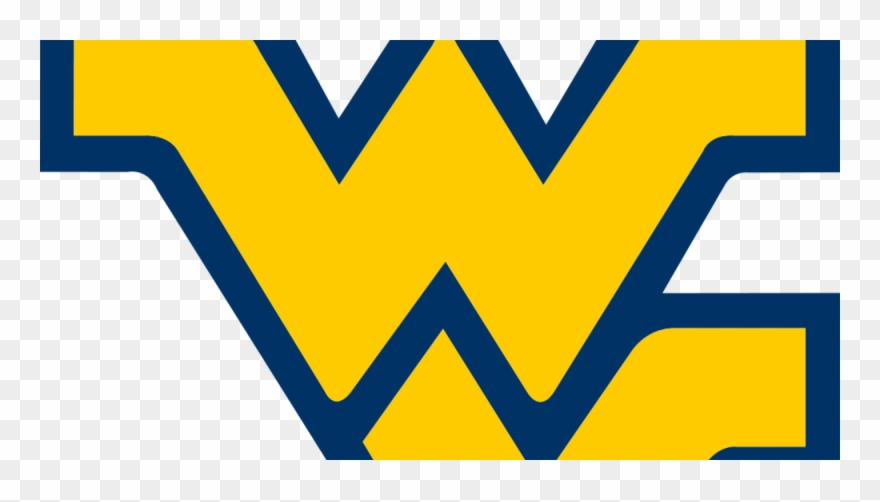 West Virginia Mountaineers Team Logo Magnet Clipart.