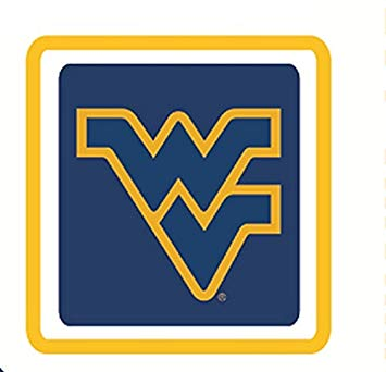 Amazon.com: 3 Inch WV Logo Decal WVU West Virginia University.