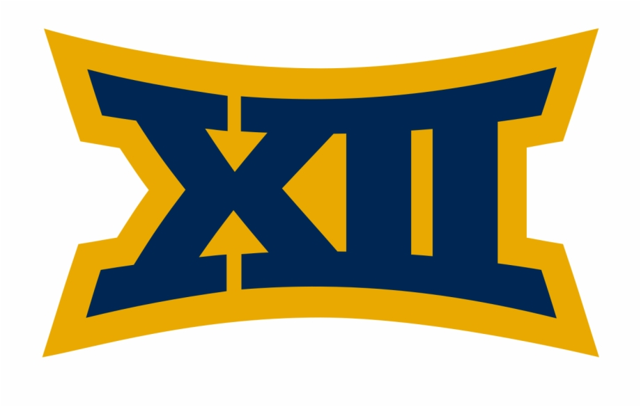 Big 12 Logo In West Virginia Colors.