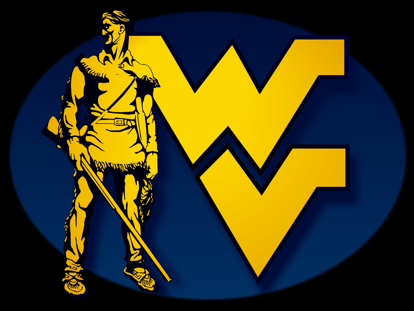 West virginia mountaineers Logos.