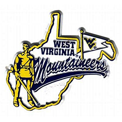 West Virginia Mountaineers Mascot Magnet.
