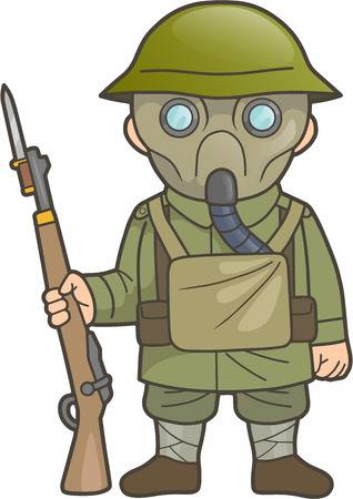 Ww1 soldier clipart 6 » Clipart Station.