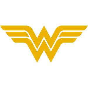 Details about Wonder Woman WW Logo 3\