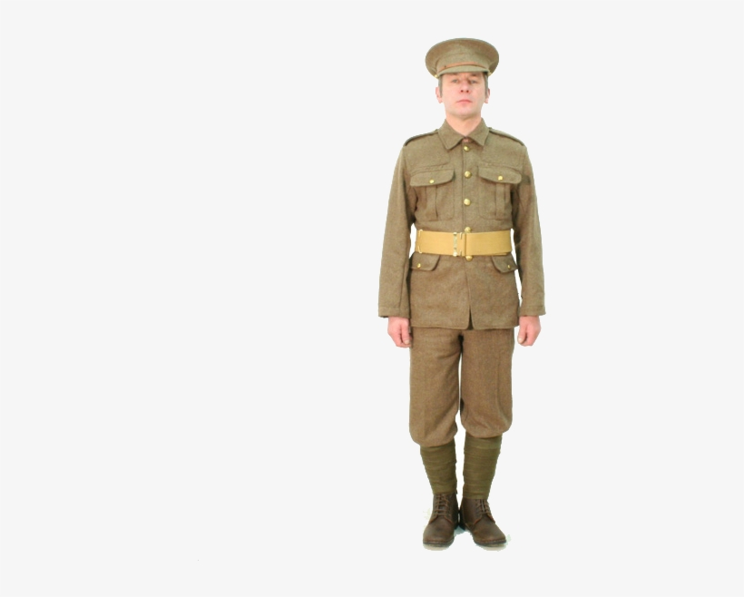 Ww1 British Soldier Transparent.