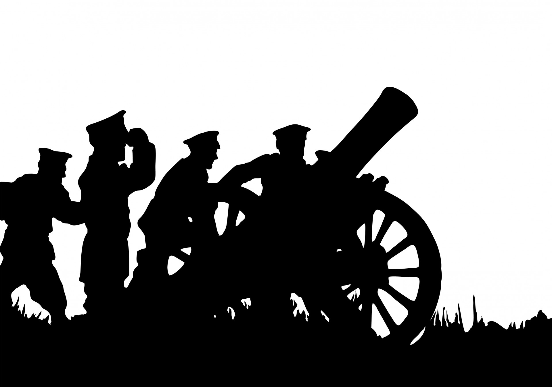 Start of WW1 Clip Art.