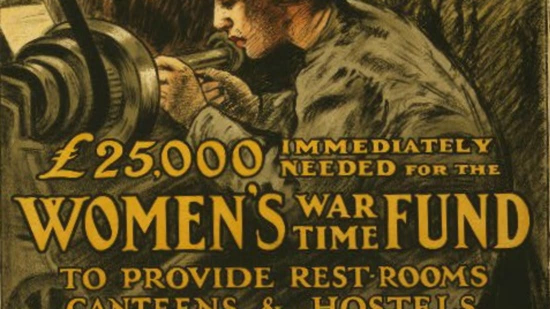11 Photos Celebrating Women Workers of World War I.