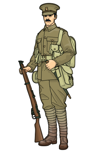 Ww1 Soldier Png » PNG Image #109960.