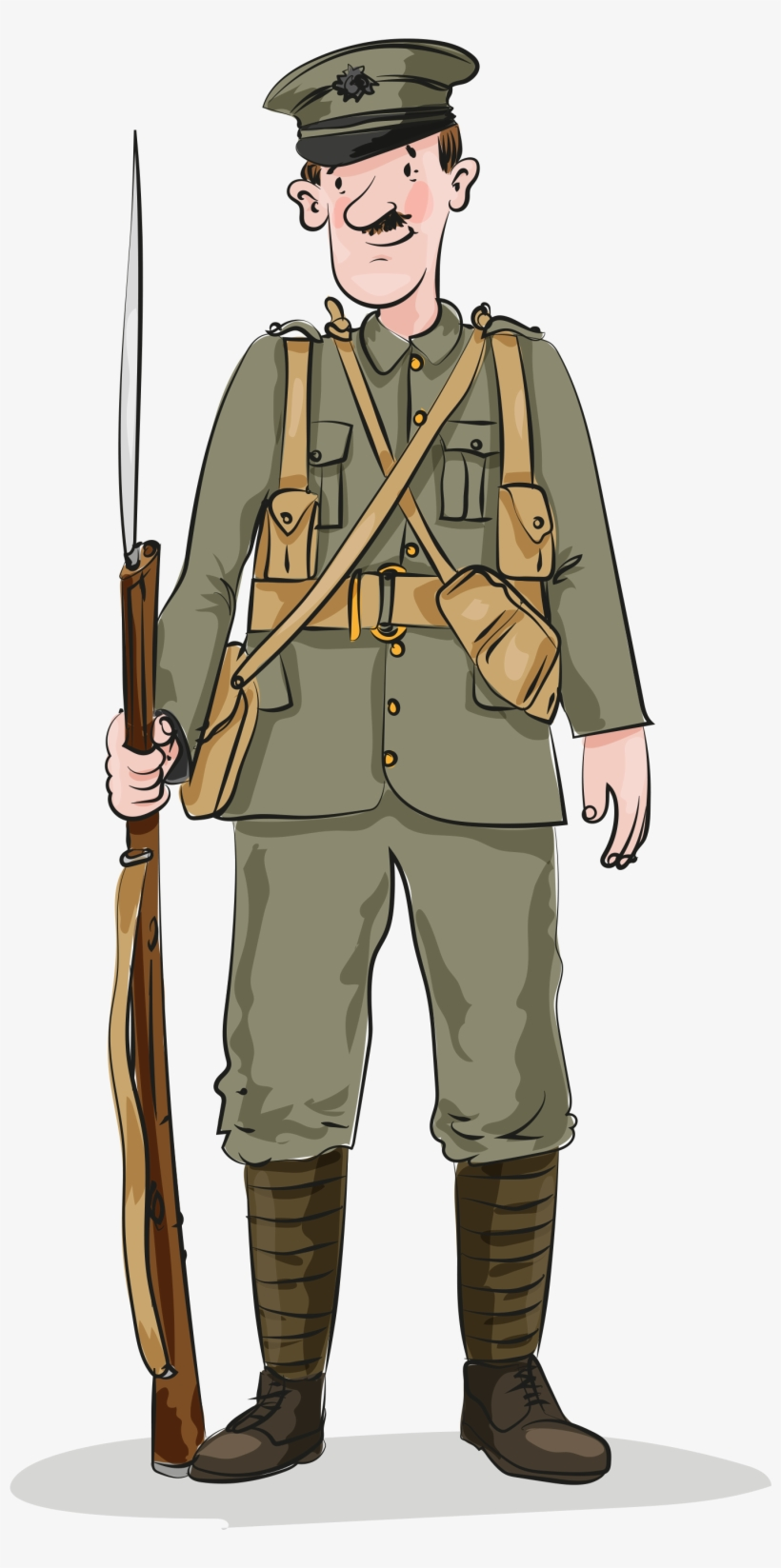 Wwi Soldier.