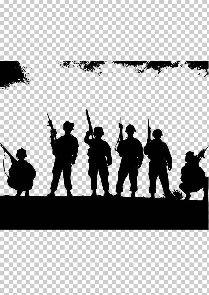 Soldier First World War PNG, Clipart, Army, Black And White.
