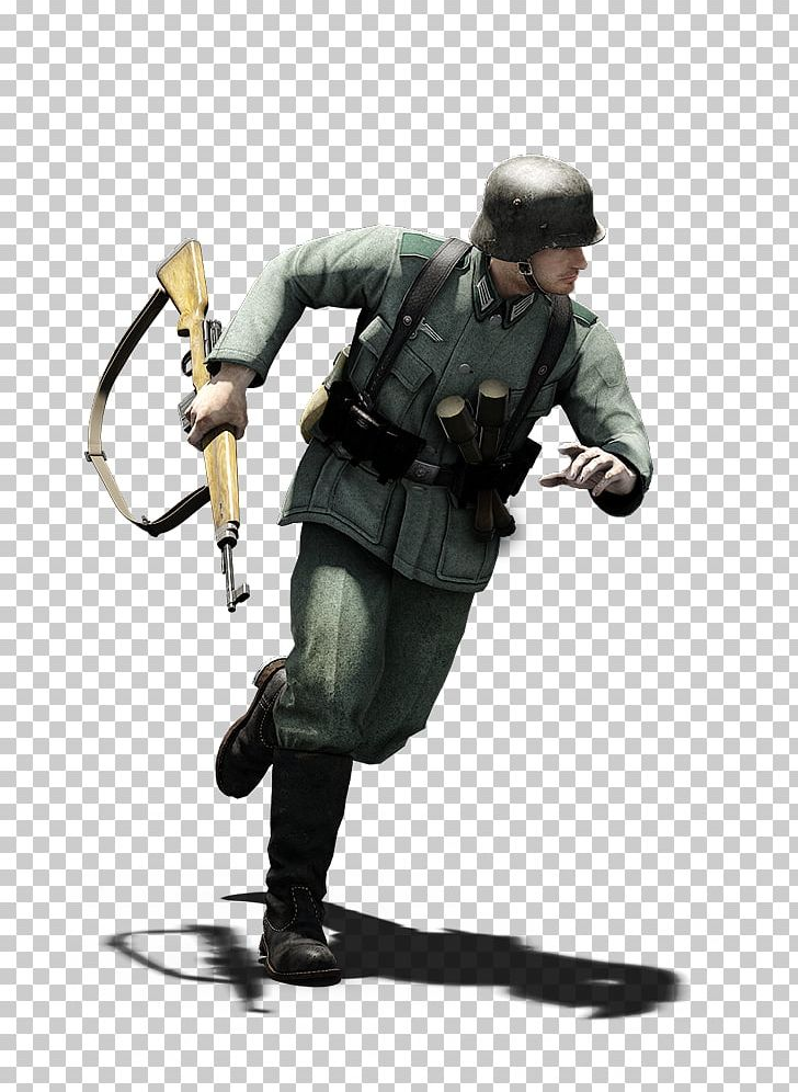 Infantry Soldier Second World War Military Camouflage German.