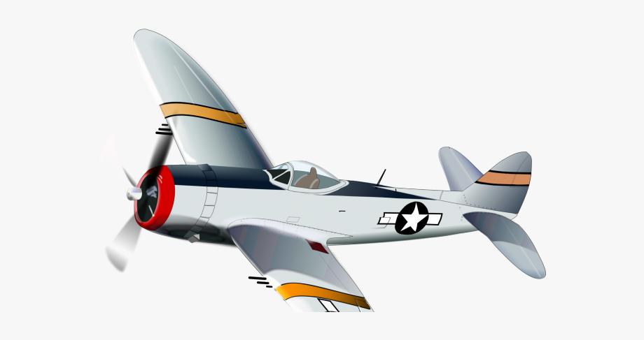Jet Clipart Ww2 Plane.